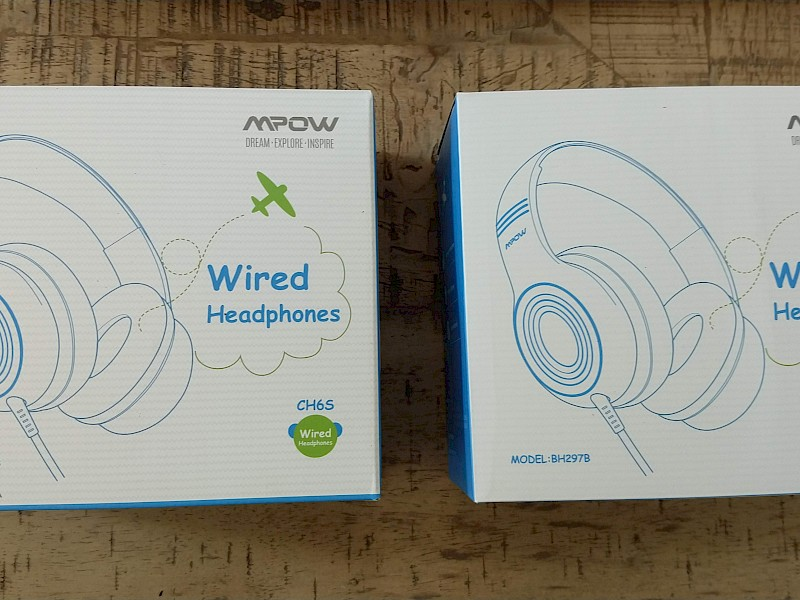Children's headphones, Mpow CH6 test - © www.real-tests.co.uk